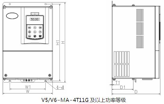 蓝海华腾v5/v6-ma机床主轴专用驱动器
